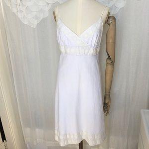 J.Crew Embellished Linen Dress